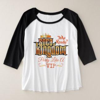 CARNIVAL Soca Kingdom (your text) Plus Size Raglan T-Shirt