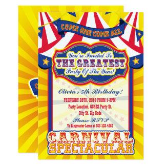 Carnival Invitations & Announcements | Zazzle