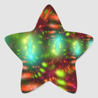 Carnival Star Sticker