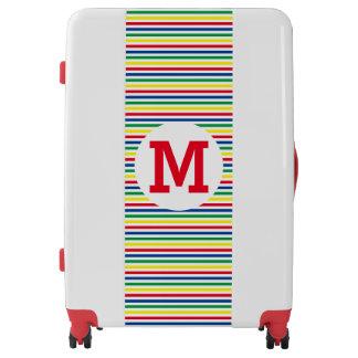 Carnival Stripes Luggage