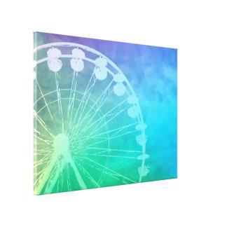 Carnival Summer - Art on Canvas Canvas Print
