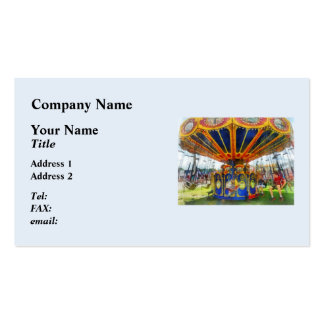 Carnival - Super Swing Ride Business Card
