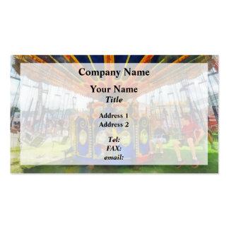Carnival - Super Swing Ride Business Card