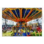 Carnival - Super Swing Ride Greeting Card