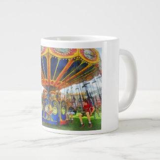 Carnival - Super Swing Ride Large Coffee Mug