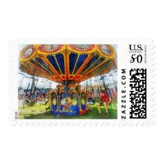 Carnival - Super Swing Ride Postage