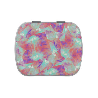Carnival Swirl Abstract Jelly Belly Tin