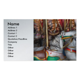 Carnival - The Carousel Double-Sided Standard Business Cards (Pack Of 100)