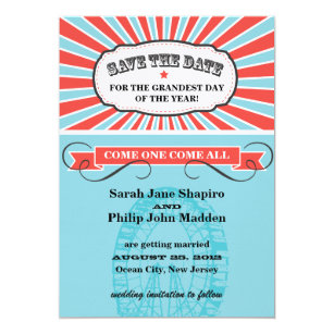Carnival Theme Invitations Announcements Zazzle