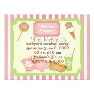 Carnival Treats Card