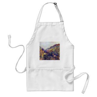 Carnival Tuesday on Boulevard Montmartre at Sunset Adult Apron