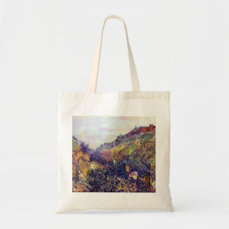Carnival Tuesday on Boulevard Montmartre at Sunset Tote Bag