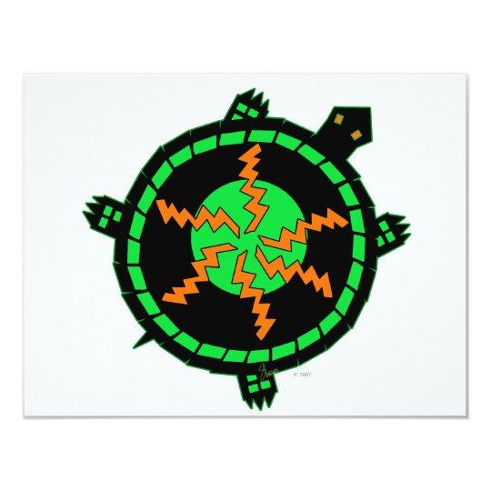 Carnival Turtle Card