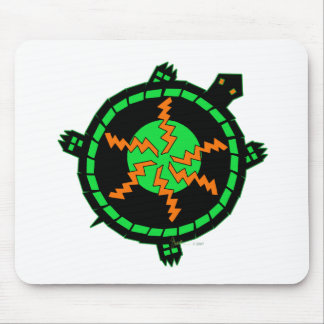 Carnival Turtle Mouse Pad