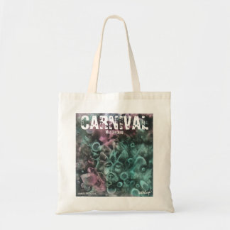 'Carnival' Watercolor canvas tote by unASLEEP Tote Bags