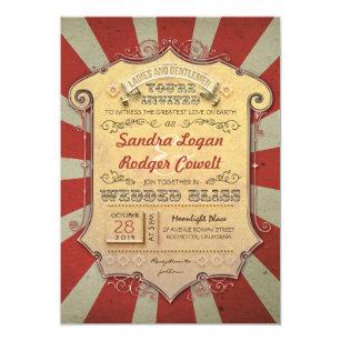 Carnival Wedding Invitations Zazzle