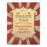 carnival wedding thank you cards