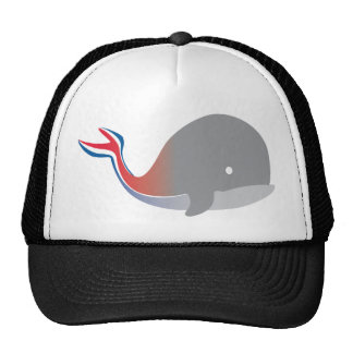 Carnival Whale Tail Cartoon Cruise Trucker Hat