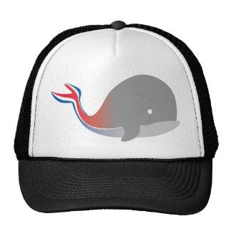 Carnival Whale Tail Cartoon Cruise Trucker Hat