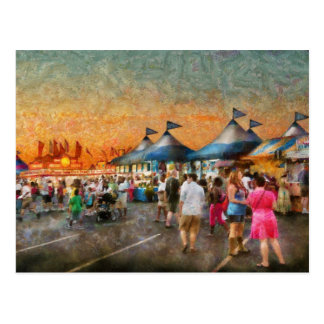 Carnival - Who wants Gyros Postcard