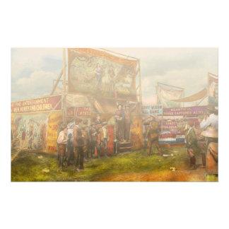 Carnival - Wild Rose & Rattlesnake Joe 1920 Stationery