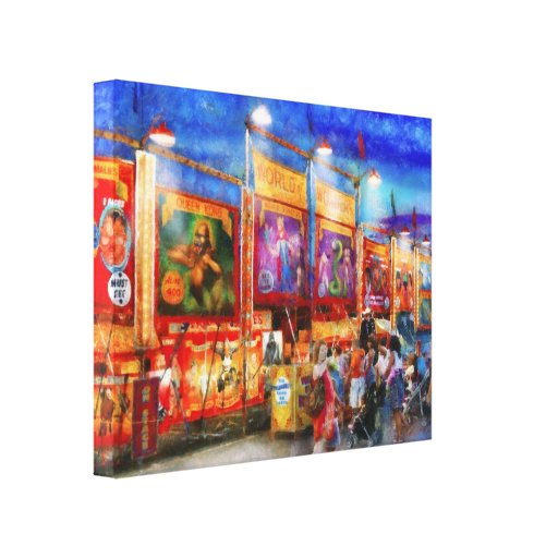 Carnival - World of Wonders Gallery Wrap Canvas