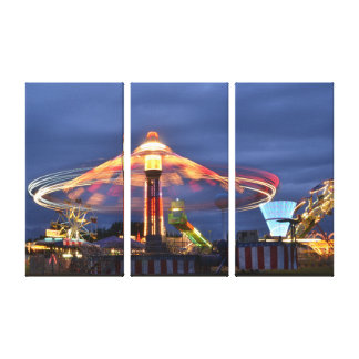 Carnival Wrapped Canvas Canvas Print