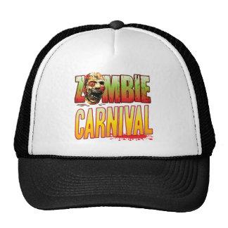 Carnival Zombie Head Trucker Hat