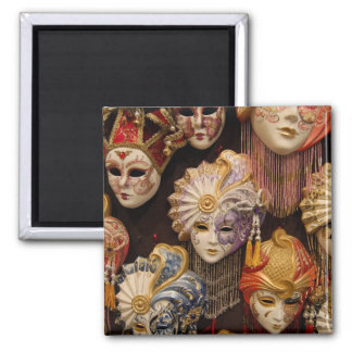 Carnivale Masks in Venice Italy Fridge Magnet
