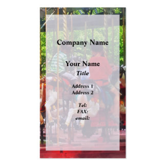 Carnivals - Friends on the Merry-Go-Round Business Cards