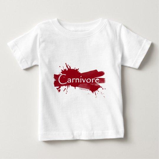 carnivore blood splatter baby T-Shirt