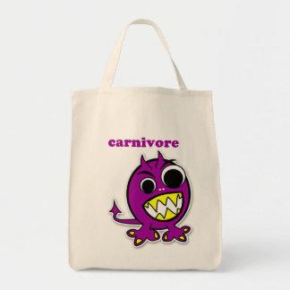 """""""Carnivore"""" Dinosaur Tote Bag"""