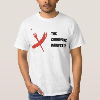 carnivore manifesto - a cccp cookbook T-Shirt