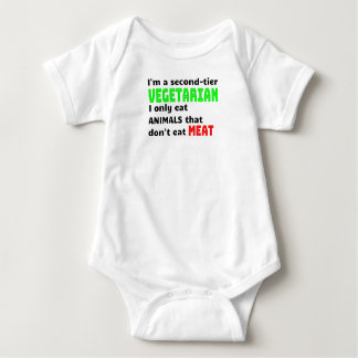 Carnivore Meat Lover Funny Sarcastic Gift Baby Bodysuit