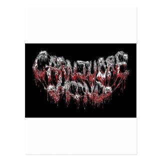 carnivore mind post card