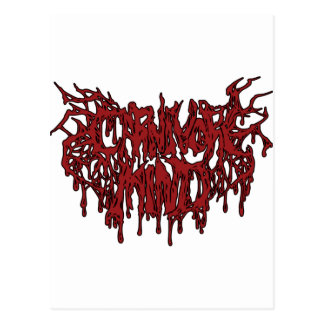 carnivore mind postcard
