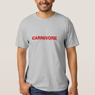 CARNIVORE T SHIRT