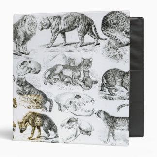 Carnivorous Animals Binder