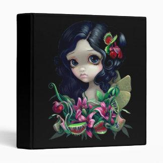 Carnivorous Bouquet Fairy BINDER big eye gothic