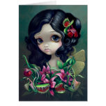 """""""Carnivorous Bouquet Fairy"""" Greeting Card"""