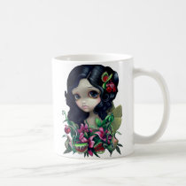art, fantasy, eye, eyes, venus, flytrap, flytraps, venus flytrap fairy, pitcher, plant, pitcher plant, carnivorous, carnivorous plants, carnivorous flower, lily, lilies, cobra, lillies, artsprojekt, lowbrow, gothic, flower, flowers, floral, big eye, big eyed, big, eyed, jasmine, becket-griffith, becket, griffith, jasmine becket-griffith, jasmin, strangeling, artist, goth, fairy, gothic fairy, Mug with custom graphic design