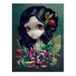 """""""Carnivorous Bouquet Fairy"""" Postcard"""