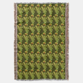 Carnivorous Cobra Pitcher Plant Pattern
