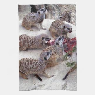Carnivorous_Meerkats,_ Hand Towel
