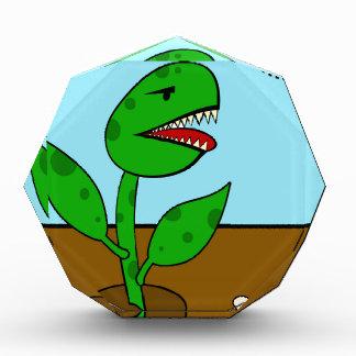 Carnivorous plant acrylic award