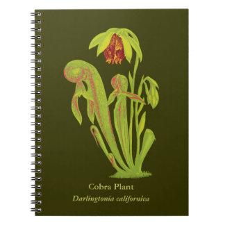Carnivorous Plant Botanical Art Note Books