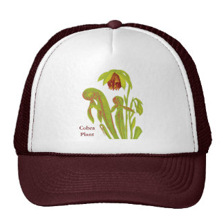 Carnivorous Plant Darlingtonia Trucker Hat