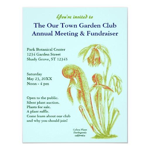 Carnivorous Plant Invitations