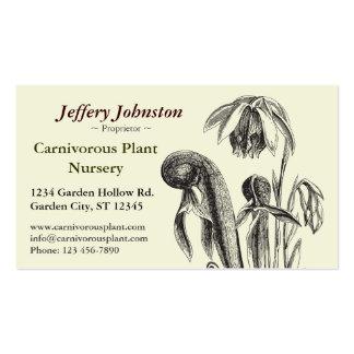 Carnivorous Plant Nursery Business Card