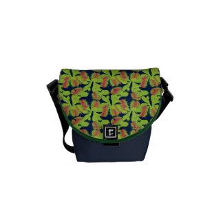 Carnivorous Plant Venus Flytrap Floral Messenger Bag